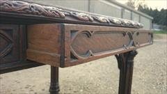 19th century oak antique library table5.jpg