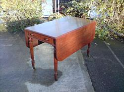 Regency mahogany antique Pembroke table.jpg
