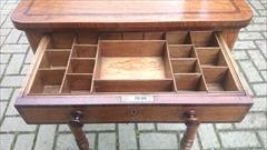 Oak and rosewood antique sewing table5.jpg