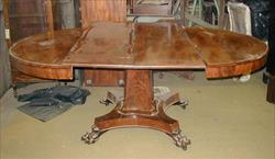 William IV mahogany extending antique breakfast table.jpg