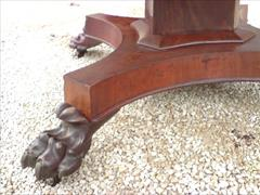 William IV mahogany extending antique breakfast table4.jpg
