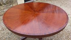 Regency style mahogany breakfast table3.jpg