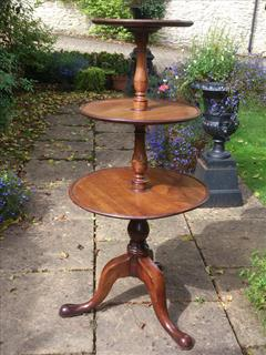 11092017Antique 3 Tier Dumb Waiter 25d 25w 50½ _1.jpg