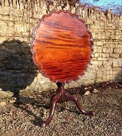 George III mahogany antique tripod table.jpg