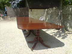 six pedestal mahogany antique dining table3.jpg