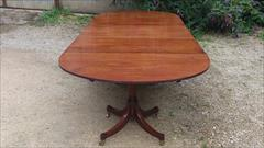 George III mahogany antique dining table1.jpg