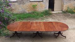 George III mahogany antique dining table4.jpg