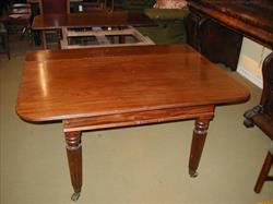 Regency mahogany extending antique dining table.jpg
