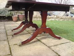 George III period mahogany Sunderland antique dining table3.jpg