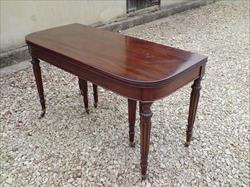 Regency mahogany antique dining table.jpg