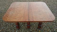 Satin birch antique dining table5.jpg
