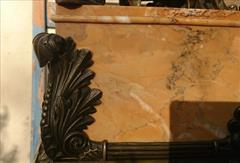 Antique Sienna Marble Clock 21h 17w 6d _7.JPG