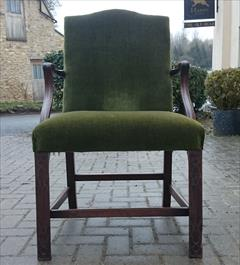 Antique Chippendale Library Chair 25d 38½h 25wm 19hs 19ds 21ws 2.JPG