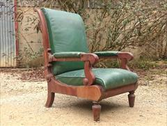 Antique reclining library chair.jpg