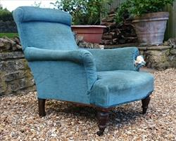 01092017Antique Easy Armchair _1.JPG
