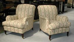 19th century pair of antique armchairs by Howard and Son - Bridgewater model.jpg