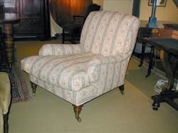 19th century antique armchair by Howard and Son - Grafton model.jpg