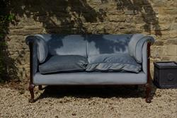 Two seat Howard and Sons antique sofa.jpg