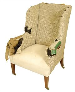 19th century Howard and Sons wing chair3.jpg