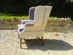 George III style wing chair made by Howard and Sons1.jpg