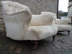 Antique armchairs by Howard and Sons of Berners Street in London1.jpg