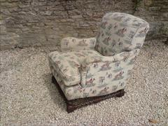 antique armchair made by Howard and Sons of London2.jpg