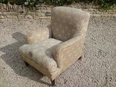 Howards and Sons pair of antique armchairs - Bridgewater model4.jpg