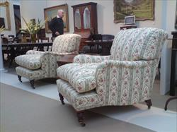 Howard and Sons of London antique armchairs - Harley model.jpg