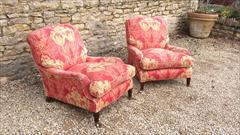 Howard and Son Grafton model antique armchairs1.jpg