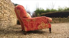 Howard and Son Grafton model antique armchairs6.jpg