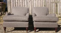 Howard and Sons pair of antique armchairs - Harley model2.jpg