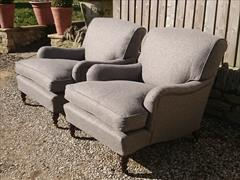Howard and Sons pair of antique armchairs - Harley model3.jpg