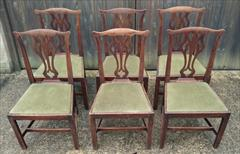 Set of six elm antique dining chairs1.jpg