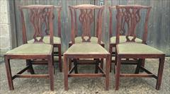 Set of six elm antique dining chairs2.jpg
