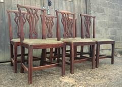 Set of six elm antique dining chairs3.jpg