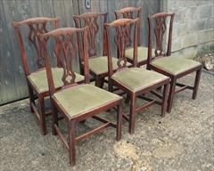 Set of six elm antique dining chairs4.jpg