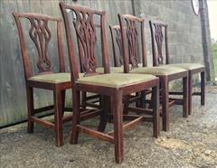 Set of six elm antique dining chairs5.jpg