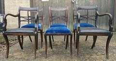 Set of six 19th century rosewood and beech antique dining chairs.jpg