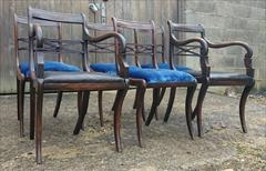 Set of six 19th century rosewood and beech antique dining chairs2.jpg