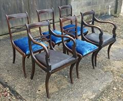 Set of six 19th century rosewood and beech antique dining chairs4.jpg