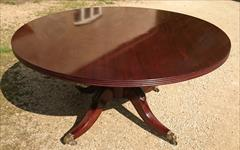 Antique Breakfast Centre Table 29h 58½wide _6.JPG