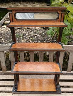 Antique Aboyna Bookcase 8d 32½h 19½d _3.JPG