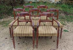 set of 8 Regency mahogany antique dining chairs.jpg