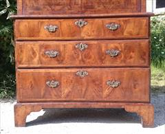 Antique Walnut Escritoire 34h to surface 45.5d open 21d 41w max 70h max 21.JPG