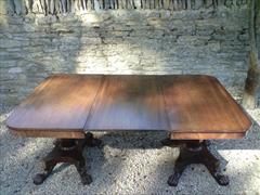 2 Pedestal Antique DIning Table 23½ each section 48d 70½w _3.JPG