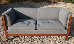 Antique Howard Sofa 30d 33½h 69w 20h seat apx _1.JPG
