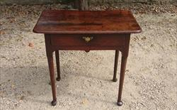 Antique Oak Side Table 31w 19½d 28h _3.JPG