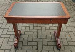 Antique amboyna writing table 34w 21d 28h 1.JPG
