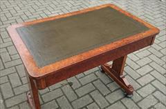 Antique amboyna writing table 34w 21d 28h 14.JPG