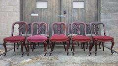 10 antique dining chairs 35h 19d 19h seat 18d seat _3.JPG